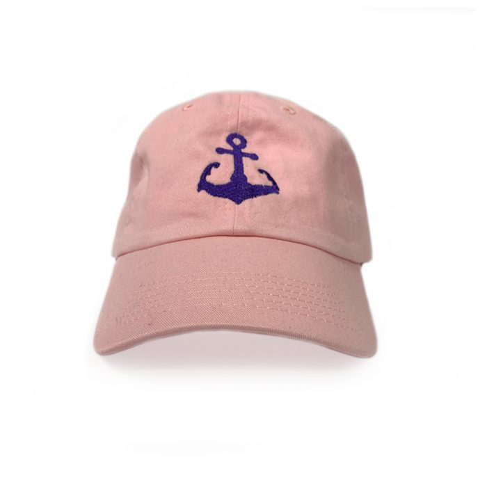 Pink Cape Cod Anchor hat